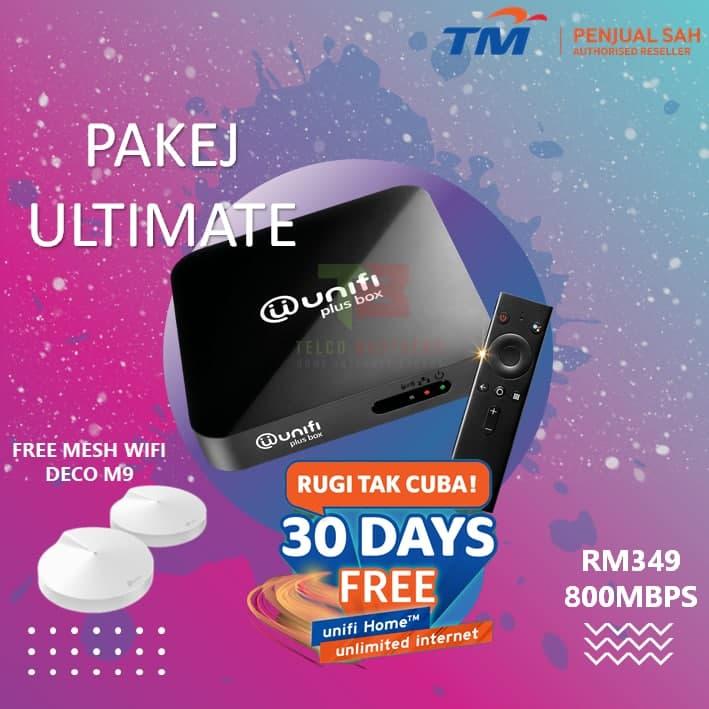 Pakej Unifi 800Mbps