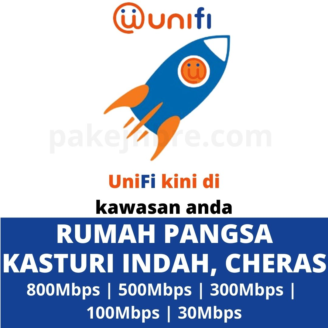 UNIFI COVERAGE RUMAH PANGSA KASTURI INDAH, CHERAS