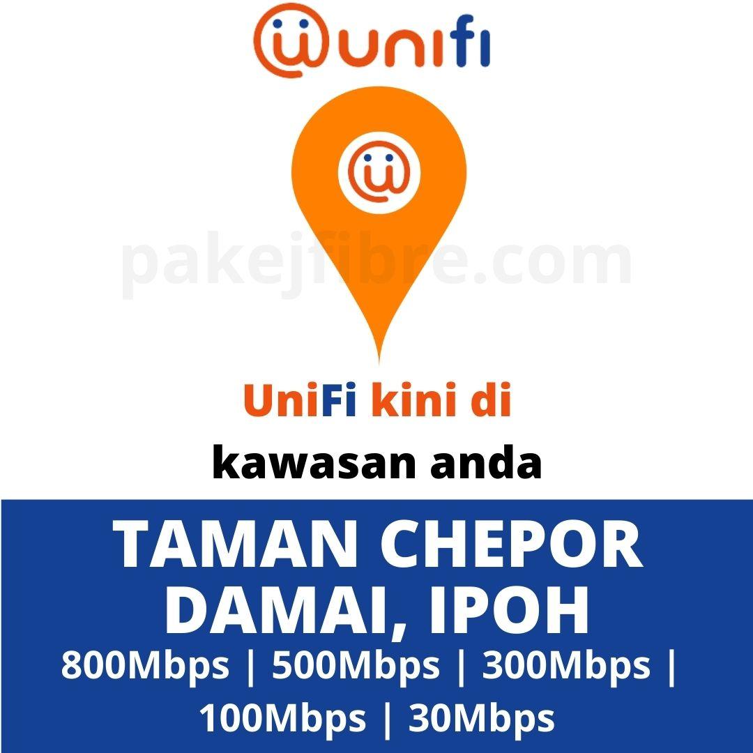 UNIFI COVERAGE TAMAN CHEPOR DAMAI, IPOH