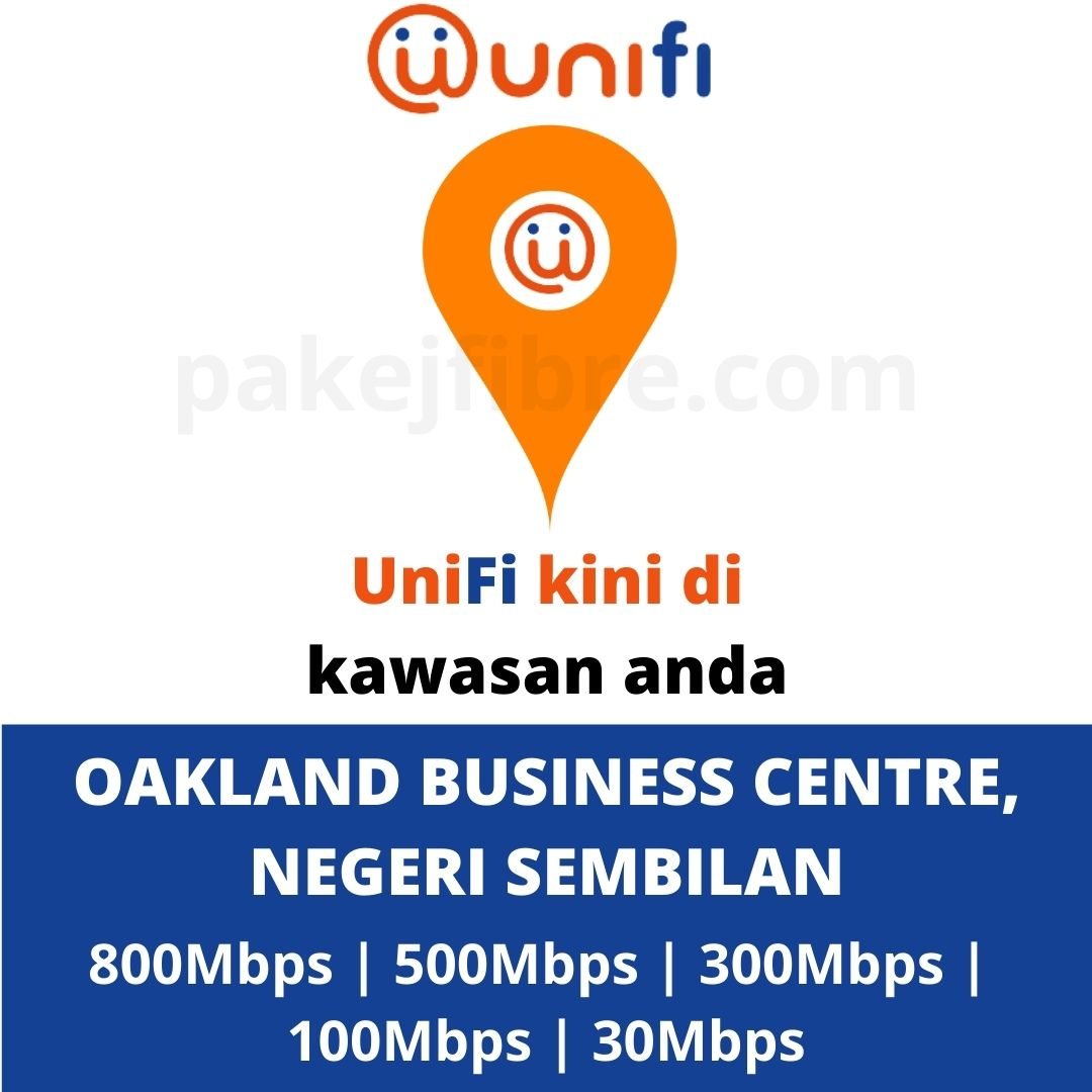 UNIFI COVERAGE OAKLAND BUSINESS CENTRE, N9