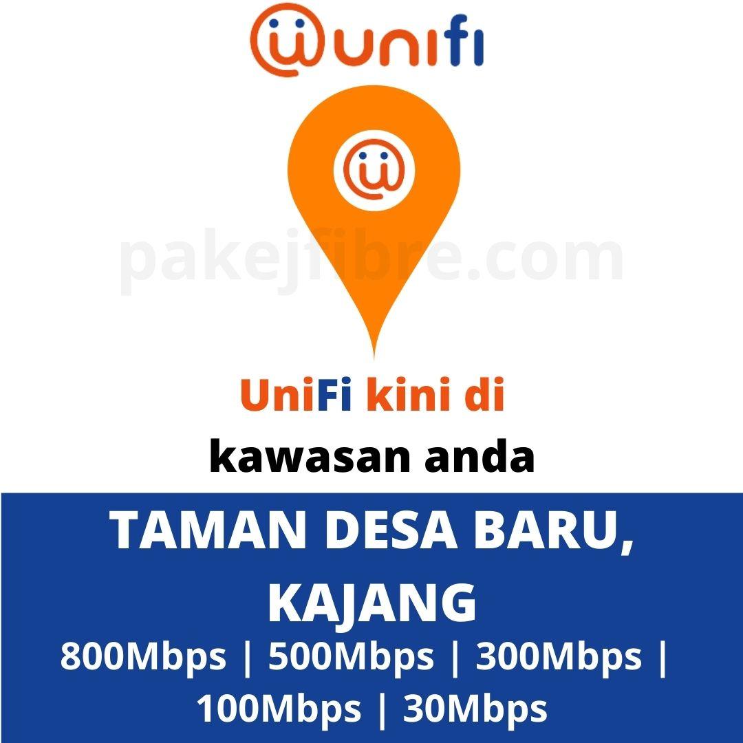 UNIFI COVERAGE TAMAN DESA BARU, KAJANG