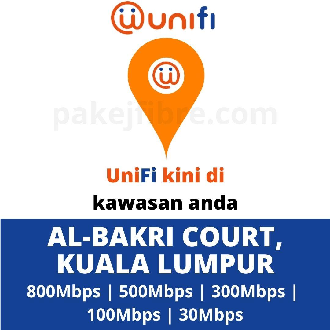 UNIFI COVERAGE AL-BAKRI COURT, KUALA LUMPUR
