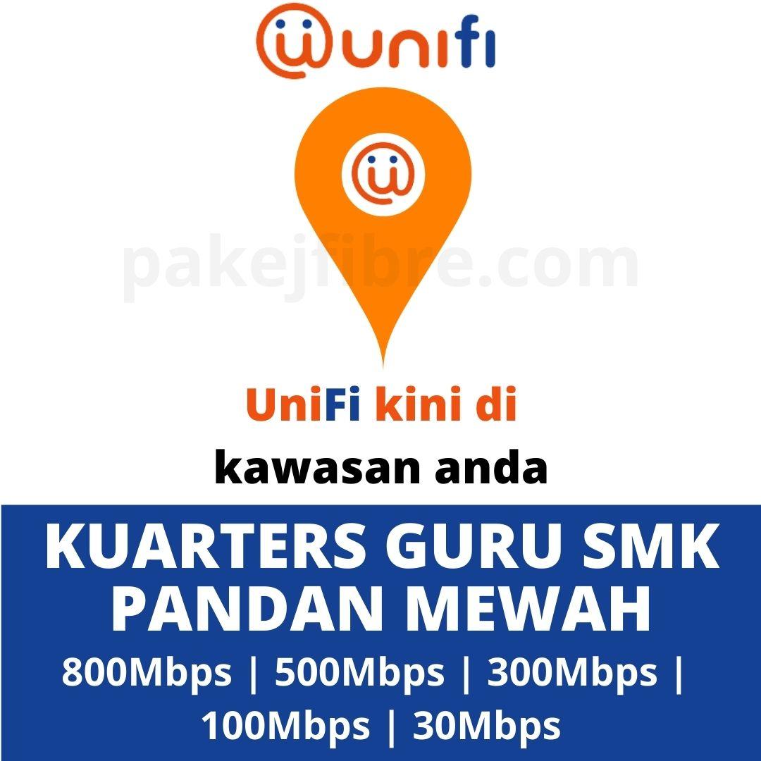UNIFI COVERAGE KUARTERS GURU SMK PANDAN MEWAH