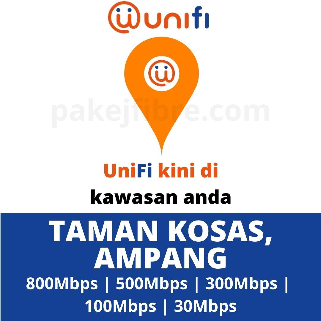 UNIFI COVERAGE TAMAN KOSAS, AMPANG
