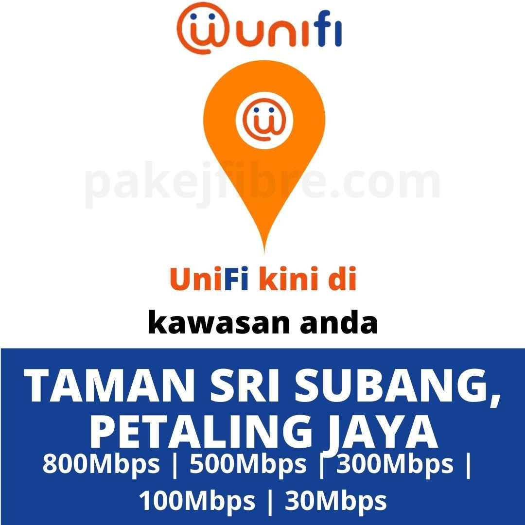 UNIFI COVERAGE TAMAN SRI SUBANG, PETALING JAYA