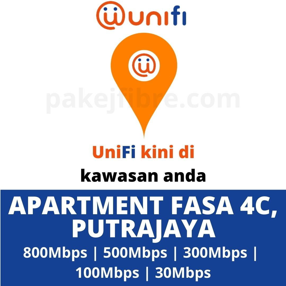 UNIFI COVERAGE APARTMENT FASA 4C, PUTRAJAYA