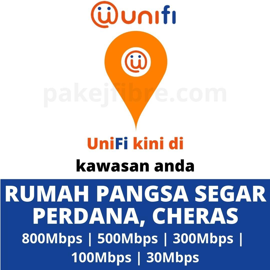UNIFI COVERAGE RUMAH PANGSA SEGAR PERDANA, CHERAS