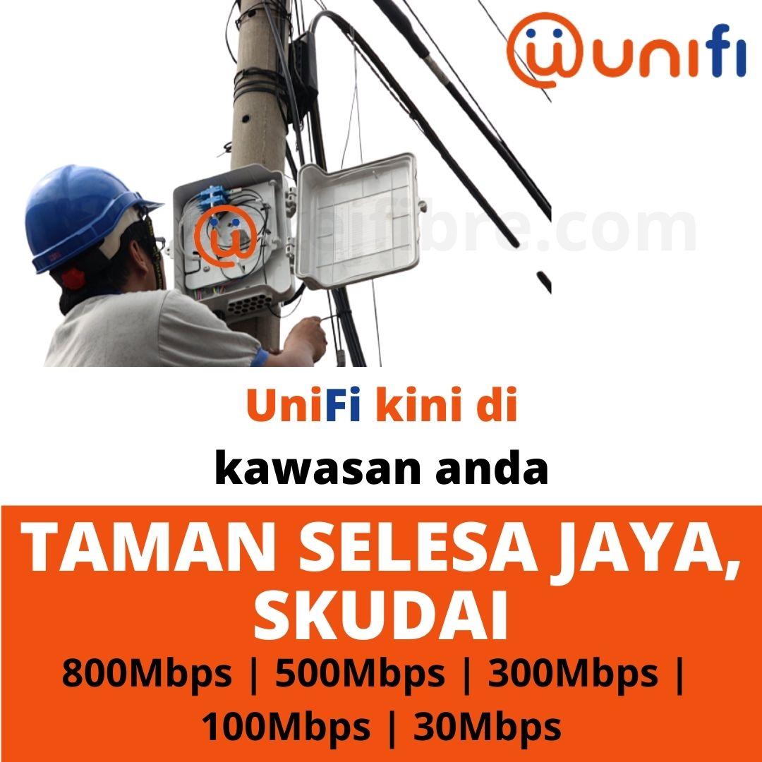 UNIFI COVERAGE TAMAN SELESA JAYA, SKUDAI
