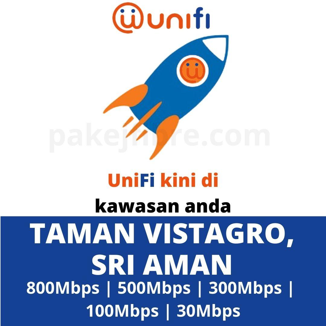 UNIFI COVERAGE TAMAN VISTAGRO, SRI AMAN